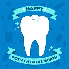 OCTOBER IS DENTAL Hygiene Month! Keep up your good dental hygiene habits if you have them, and get started on them if you don't! #awinkandasmile #eyeanddentalcare