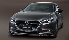 Aero Kit Jet Black - Front Air Dam | Mazda 3 & 3 Sport (2017)