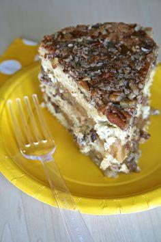 ♡♡♡Pecan Pie Cake♡♡♡ OMG! This is soooo delicious♡♡