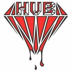 H.U.B Logo Hub Logo, Playing Cards, Logos, Pop, Popular, Pop Music, Playing Card Games, Logo, Game Cards