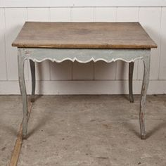 Antique Painted Swedish Side Table