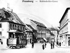 História bratislavskej MHD v rokoch 1895 až 1908 Bratislava, Street View, Europe, Times, Historia, Photos
