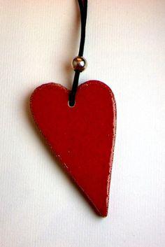 collana cuore San Valentino di LesCerAmiche su Etsy