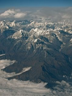 Himalayas between Bhutan and Nepal
