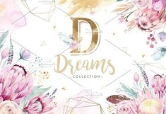 Gold protea by Peace ART on This set of high quality hand painted watercolor floral and feather elements. Perfect graphic for DIY, wedding invitations, Business Illustration, Pencil Illustration, Graphic Illustration, Wedding Illustration, Illustrations, Boho Hippie, Peace Art, Watercolor And Ink, Watercolor Wedding
