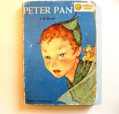Unusual and Profusely Illustrated Peter Pan and Alice in Wonderland Flip Book, 1957, Frame Worthy Illustrations