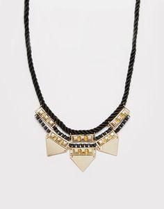 Pieces Matina Triple Tri Necklace