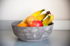 Large Concrete Fruit Bowl // Multi-purpose by TheFrenchVikings