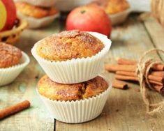 Muffins aux pommes et aux épices d'hiver