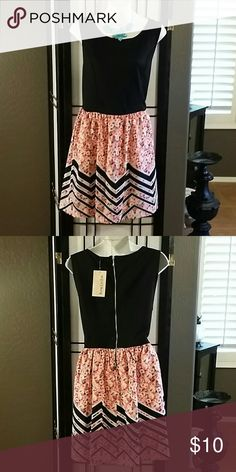 NEW * Rewind * Beautiful * Black Multi-Color Sleeveless Above-Knee * Polyester /Spandex * Accessories Not Included * Rewind Dresses