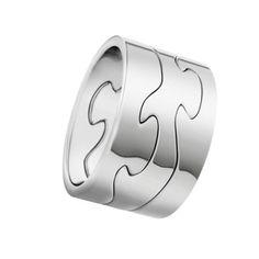 Georg Jensen (USA) puzzle ring <3