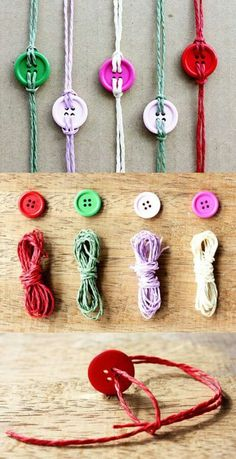 10 Chic And Easy DIY Button Bracelet Ideas