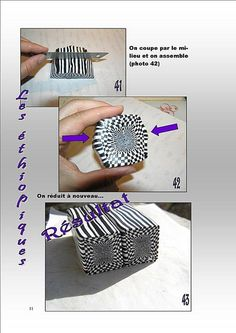 Hypnotic cane tutorial by Les Ethiopiques - #Polymer #Clay #Tutorial