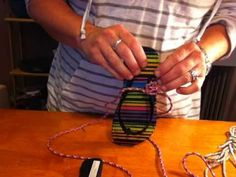 Paracord Flip Flops Tutorial with Mom's Lifesavers - YouTube