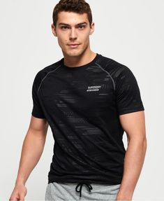 Superdry Active Motion Loose T-Shirt - Men's T Shirts Gym Accessories, Superdry Mens, Gym Wear, Boys Shirts, Sportswear, Gym Clothing, Clothes, Uk Online, Mens Tops