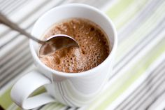Perry's Plate: Dishing up real-food recipes and really good desserts » Blender Hot Chocolate (Dairy-free and naturally sweetened!)