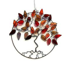 Stained+Glass+Tree+Of+Life+-+Autumn £65.00