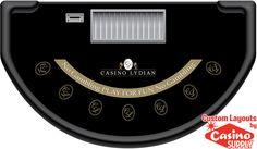 Custom Blackjack Lydian by Casinosupply.com