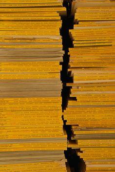national geographic, magazines, lines, horizontal, yello, pattern, crevasse, stacks,