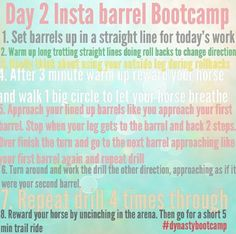Fallon Taylor Barrel Boot Camp- Day 2
