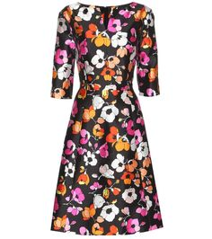 mytheresa.com - Printed silk and cotton dress - Luxury Fashion for Women / Designer clothing, shoes, bags