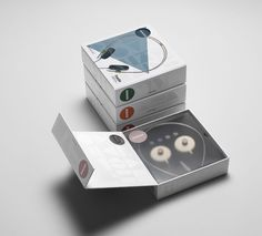 AIAIAI packaging- a beautiful design by Muggie Ramadani with great extension planning.