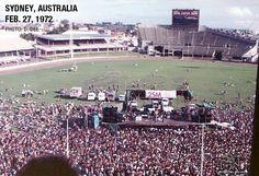 Led Zeppelin, Sydney, 27 February 1972
