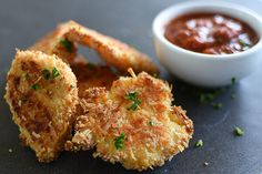 Check out this delicious recipe for Spicy Parmesan-Crusted Chicken Bites from Weber—the world's number one authority in grilling. Parmesean Crusted Chicken, Parmesan Crisps, Weber Q Recipes, Most Delicious Recipe, Chicken Bites, Light Recipes, Meals, Dinners, Keto Recipes