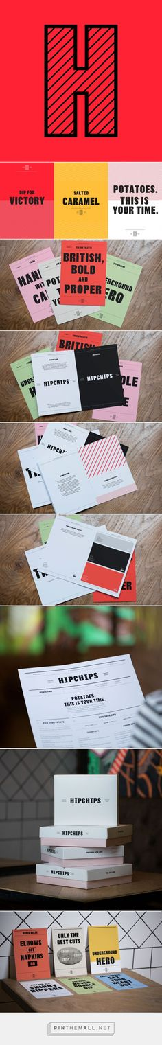 Brand New: New Logo and Identity for Hipchips by Ragged Edge - created via https://pinthemall.net