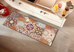 Moderne Designs und zeitgenösschise Kunst - Die Salonloewe Fußmatten überzeugen auf ganzer Linie. #Salonloewe #Wohnmatten #Fußmattem #Herbstkollektion