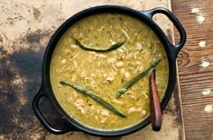 White Bean Chicken Green Chili from the Homesick Texan website.