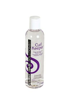 10 Holy-Grail Hair Products Under $10 #refinery29  http://www.refinery29.com/cheap-curly-hair-products#slide4  Curly Hair Solutions Curl Keeper No matter how new you are to the natural-hair community, you've probably heard the collective rave reviews surrounding this product. Containing the humectant glycerin (which helps keep your hair soft by attracting moisture from the air around you), this product also contains propylene glycol (which has the ability to make non-water soluble substances…