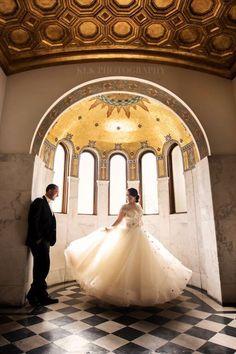 Vibiana Real Wedding |Danielle + Michael - Vibiana - A Good Affair - KLK Photography - Los Angeles Wedding