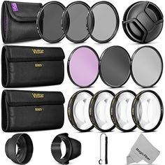 58MM Complete Lens Filter Accessory Kit for CANON EOS Rebel T6i T6 T5i T5 T4i T3i SL1 DSLR Camera - http://allcamerasportal.com/58mm-complete-lens-filter-accessory-kit-canon-eos-rebel-t6i-t6-t5i-t5-t4i-t3i-sl1-dslr-camera/
