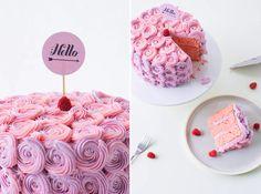 Poppytalk: Best of Recipes | Rose Buttercream Cake Tutorial