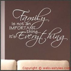 This is true (plus friends who are family -same thing)