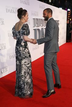 Jamie Dornan and Dakota Johnson Look Really Delightful Together Here