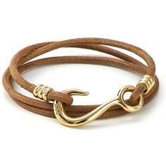 Rank & Style Top Ten Lists | Giles & Brother Hook Wrap Bracelet #rankandstyle