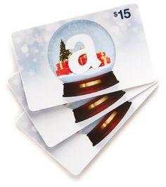 Amazon giftcard - any amount :)