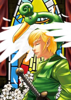 Ezlo, Link (from The Legend of Zelda: The Minish Cap)