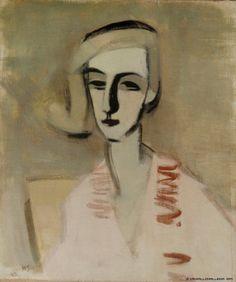 Helene Schjerfbeck, The Teacher 1933 on ArtStack #helene-schjerfbeck #art