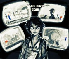 My absolute favorite piece of Alice isn't Dead fanart. There needs to be more of this.