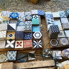 """451 Likes, 11 Comments - Antique and Encaustic Tiles (@jatanainteriors) on Instagram: """"Some mess is more beautiful than other mess... #encaustictiles #handmadetiles #cementtiles…"""""""
