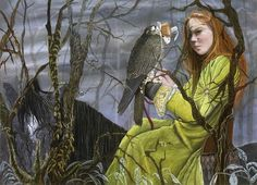 [Fantasy art] Let Me Fly Away by merglenn at Epilogue