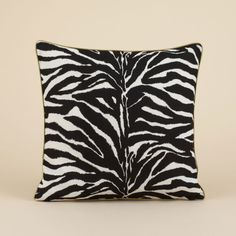 Zebra print cushion pillows used to have some just like these :(