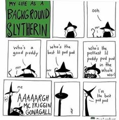 Life of a background slytherin
