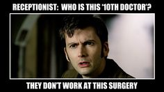 """BBC Latest News - Doctor Who - 13 Signs You're Obsessed with Doctor Who! -- """" You're inclined to write YOUR DOCTOR when asked for your Doctor's name on a form."""""""