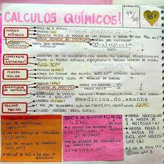 #RESUMOS #QUÍMICA #CÁLCULO  Também já está disponível para download no blog (RESUMOS 2016 - LINK ...