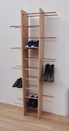 Wooden Shoe Cabinet, Wooden Shoe Racks, Diy Shoe Storage, Diy Shoe Rack, Shoe Shelf Diy, Best Shoe Rack, Diy Furniture, Furniture Design, Narrow Cabinet