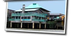 Cedar Key Harbour Master Suites - Cedar Key Florida Lodging - 12 room hotel juts out over the Gulf